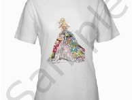 10343c259d Barbie Generation Of Dreams Reproduction Art Women s T-ShirtOur great womens  t-shirt is made of 100% preshrunk cotton, high-quality and heavyweight.